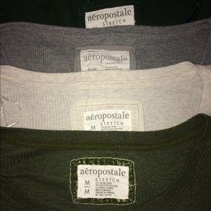 BUNDLE!!! Aeropostale Long Sleeve Shirts M