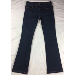 Banana Republic jeans dark blue boot 5 pocket