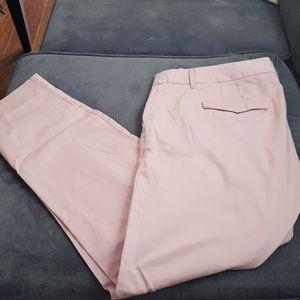 J crew blush dress/work pants