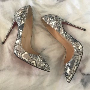 Christian Louboutin So Kate 120 Marble Patent