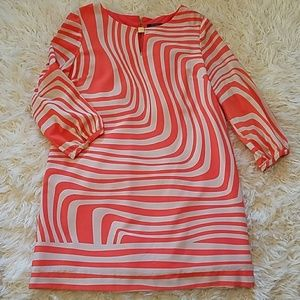 TAHARI 3/4 sleeve shift dress, sz 12