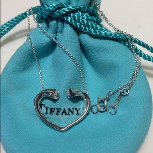 Authentic Large Tender Heart Necklace