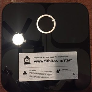 Fitbit Aria Scale in Black