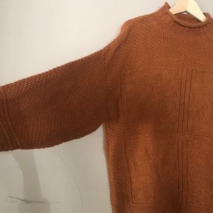 Cute Vintage Rust Sweater