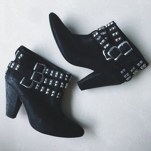 Zara Studded detail heels