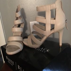 Beautiful caged heels