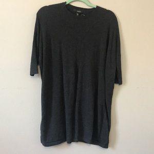 Dolman sleeve sweater dress