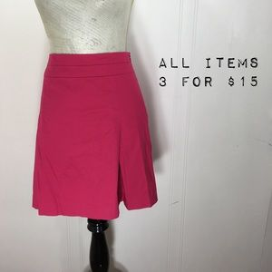 Banana Republic Pink Skater Mini Skirt