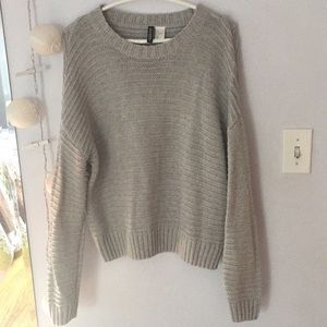 Gray Sweater from H&M