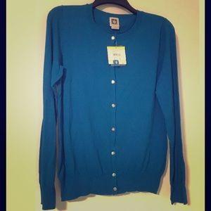 NWT Anne Klein Classic Cardigan Sweater Medium M
