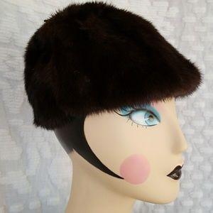 Vintage Joseph J Stefani furs, San Mateo hat