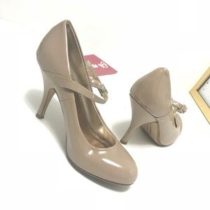 Chinese Laundry Nude Mary Jane Shoes Heels Strap 8