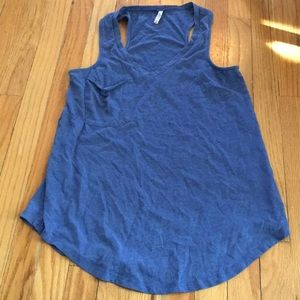 Z Supple racer back tank top w/ pocket!