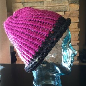 New Hand Knot Chunky Beanie Hat