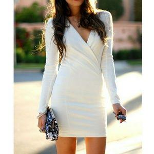 Lulu's Foreign Film Ivory Dress