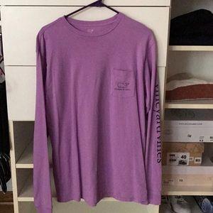 Vineyard Vines purple long sleeve
