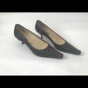 PRADA brown Shoes size 36.5