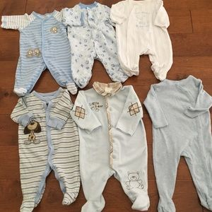 Other - Nordstrom baby and more footed rompers