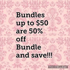 Accessories - All bundles up to $50 are 50% off!!!