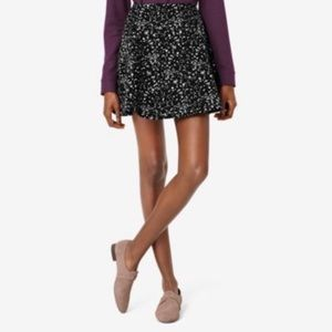 Kate Spade Saturday Black 'Galaxy' Circle Skirt