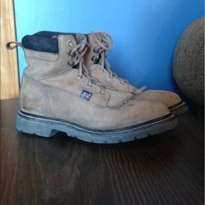 Justin riding/ work boots size 8M