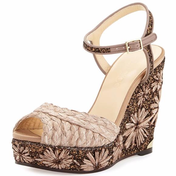 c5b96b72ea1e Jimmy Choo Perla Glitter Braided Wedge Sandal. M_5a132c8da88e7dacfb0e8550