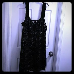 Torrid very sexy lace black dress