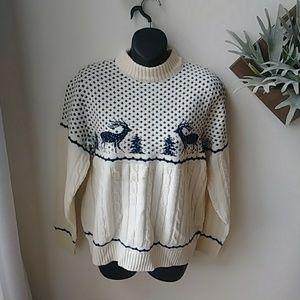 1960's vintage Jantzen Christmas sweater