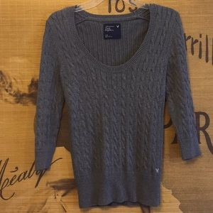 American Eagle Outfitters Sweater w 3/4 Sleeves