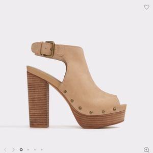 ALDO Women's Heel 'Camilia' (BONE)