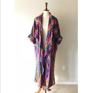 Vintage • Guatemalan duster coat