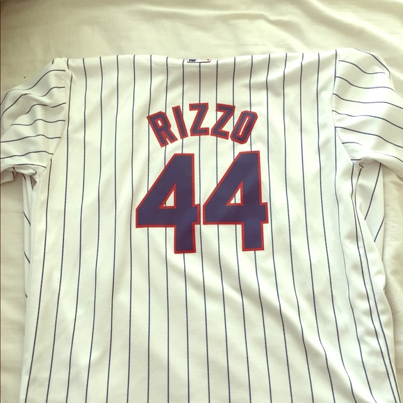 8c683154d Majestic Tops - Rizzo Youth Cubs Jersey