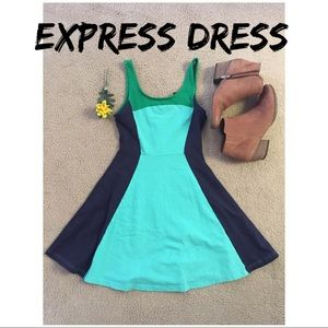 Express Fit n Flare Dress Size: S
