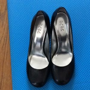 BCBG Black high heels- size 10