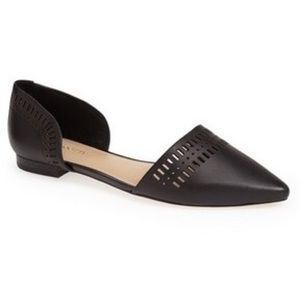 Just In💕 D'orsay Pointy Toe Flats