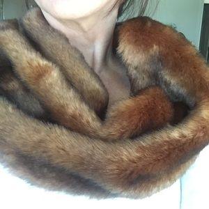 Ann Taylor Faux Fur Neck Wrap