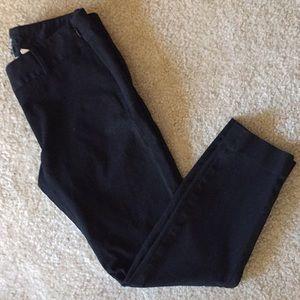 J. Crew City Fit Cropped Black Skinny Pant Size 2