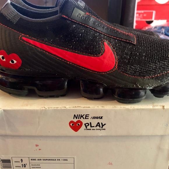buy popular 535ae c4367 Nike x Comme des Garçons Air Vapormax, Sz9, NWB!!