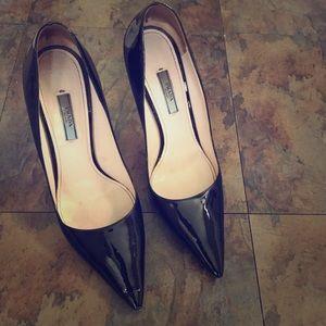 Prada Women's Pumps Black Patent Size 10