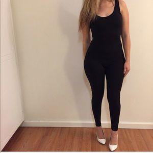 Pants - Alexa Black Tank Jumpsuit