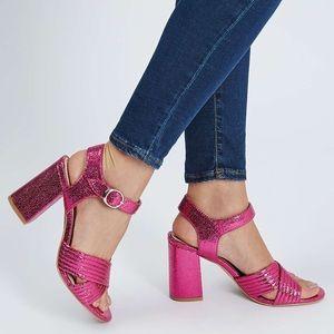 Topshop•Radiant Pink Sandals