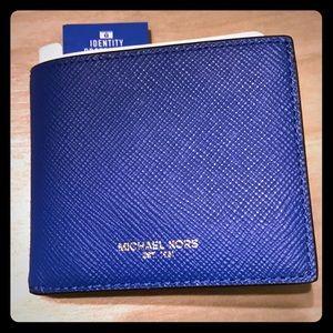 f1bdbaf7cc57 Michael Kors Bags - LAST 1 Michael Kors Harrison slim wallet with RFID