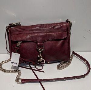 Oxblood Rebecca Minkoff Crossbody purse