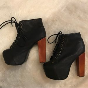 Jeffrey Campbell black litas
