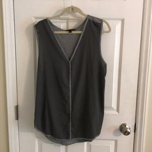 Banana republic XL grey tank