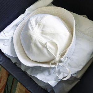 Prada Accessories - Prada Cotton Sailor Hat