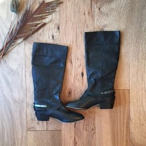 New Chinese Laundry Black Boots