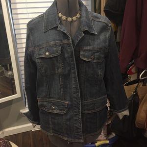 Lane Bryant Denim Jacket 18/20