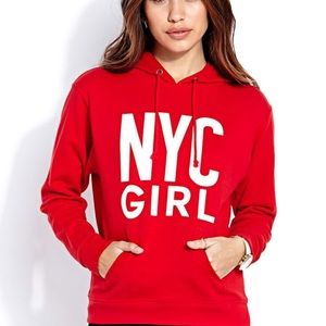 Forever 21 NYC GIRL Hoodie