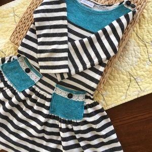 Terry Dress girls size 10